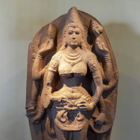the Hindu goddess Durga.- from Anuradhapura 10th C jpg