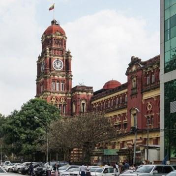 20. clock tower - downtown Yangon