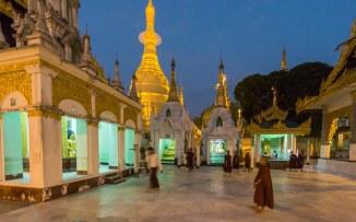 26. the Naungdawgyi Pagoda in Shwedagon's NE corner