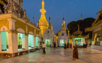 26. the Naungdawgyi Pagoda in Shwedagon's NE corner