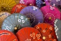 65. Pindaya - painted umbrellas