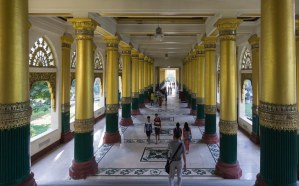 7. eastern entrance to Shwedagon Pagoda