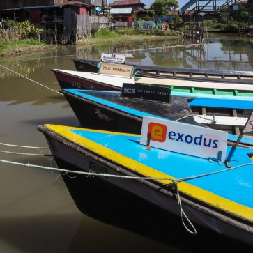 73. Inle boats for hire - various tour agencies!