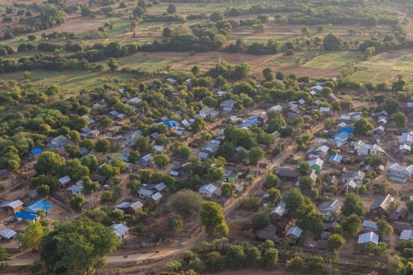 new settlement for locals displaced from the Archaeological Zone