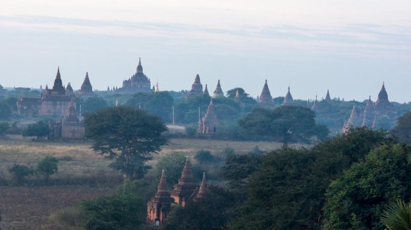 the countless spires of Bagan!