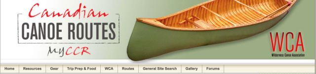 Canadian Canoe Routes header