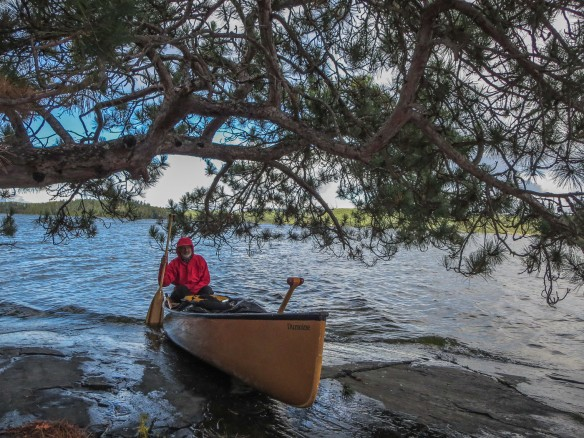 canoe in park while I check out an Obabika campsite