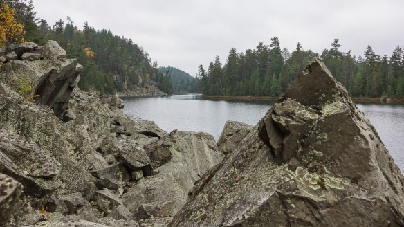 Sheepskin Lake from the Conjuring Rock
