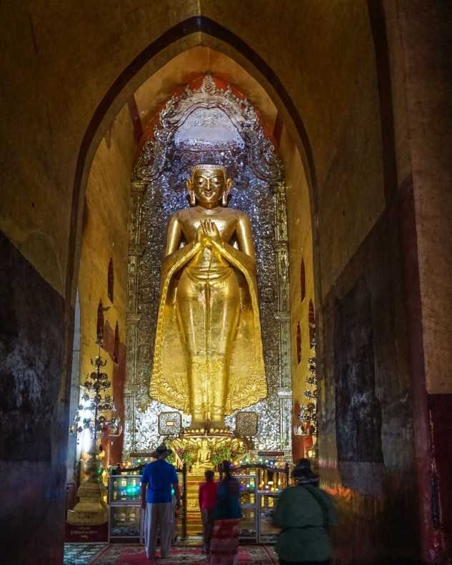 standing Buddha at Ananda Temple
