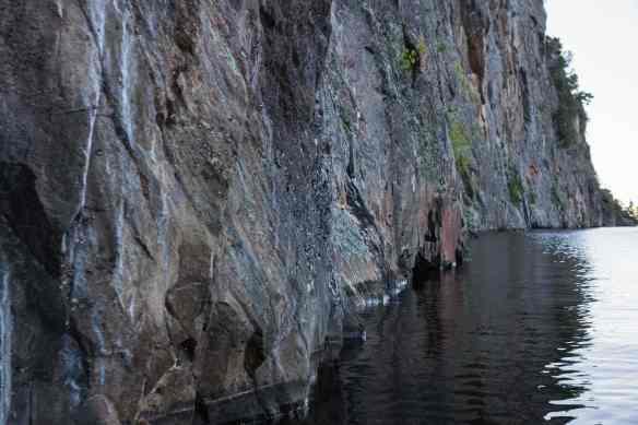 a stretch of mazinaw Rock