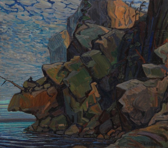 Arthur Lismer. The Sheep:s Nose. Bon Echo. 1822.