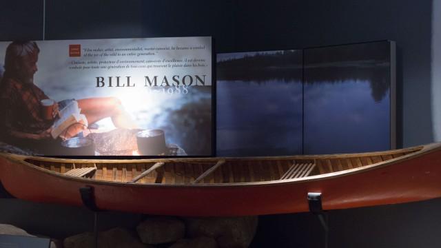 Bill Mason's red cedar strip