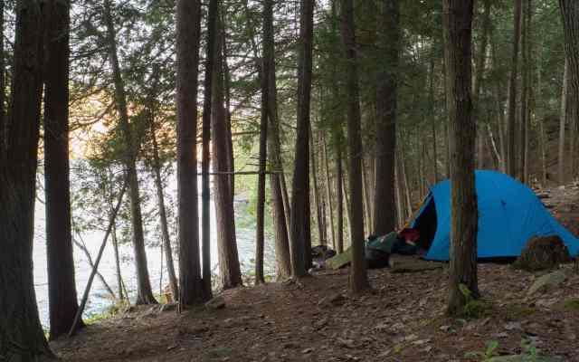 Bon Echo Campsite #168