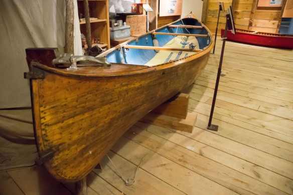 Cedar Strip Freight Canoe by Lakefield Co.