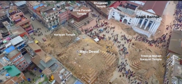 Kathmandu post-earthquake 2015 Durbar Square Kathmandu post-earthquake 2015