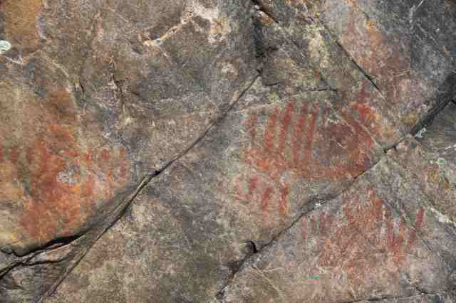 Maziinaw - the pictos just S of Dewdney's Face XXVIII
