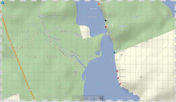 Mazinaw Lake - lower section