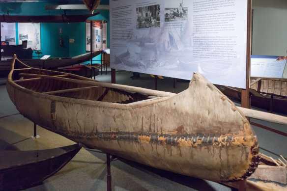 Ojibwe canoe