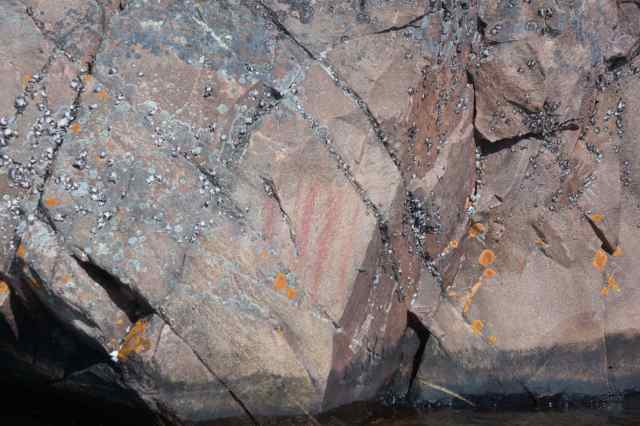 one of the pictos north of Face II's Mishipeshu