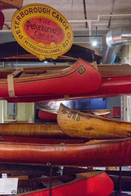 Peterborough Canoe Co. canoes