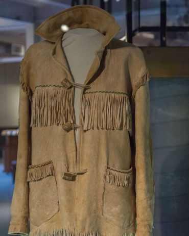 Pierre Trudeau's buckskin jacket