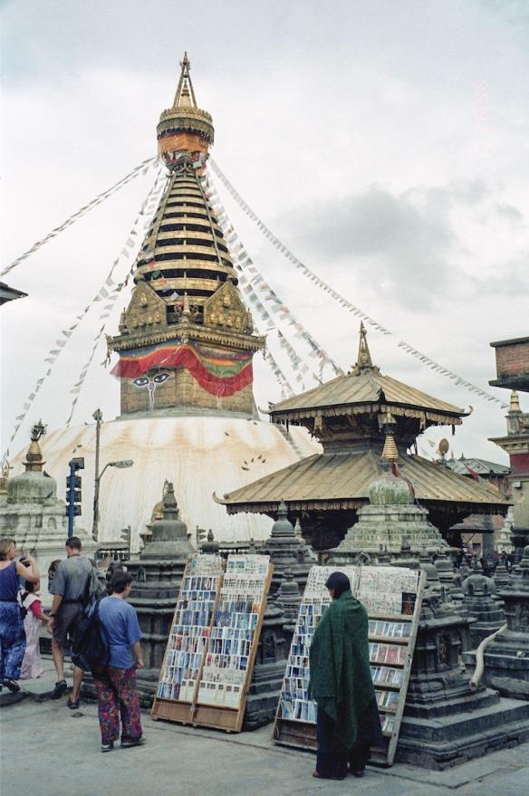 swayambhu stupa and surroundings
