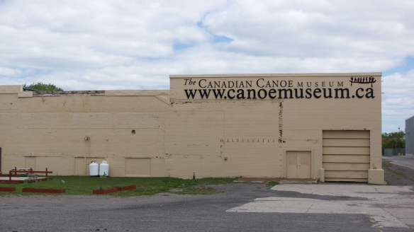The Canadian Canoe Museum warehouse - 2:3rds of the holdings are here!