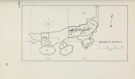 Johnson 1960s serpent mound sketch