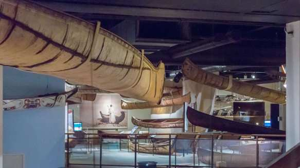 Canadian Canoe Museum's second floor