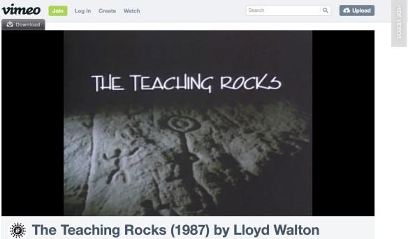 Vimeo - The Teaching Rocks