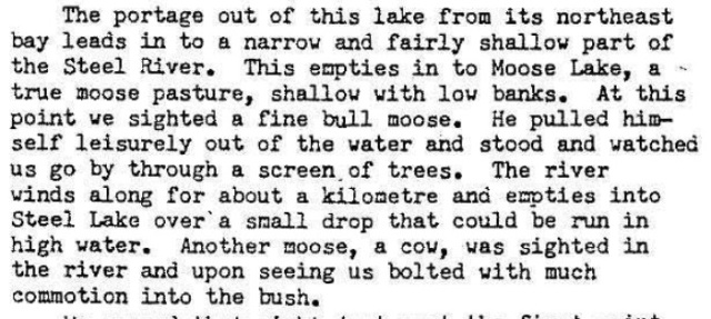 Norm Stewart. 1980 trip report extract