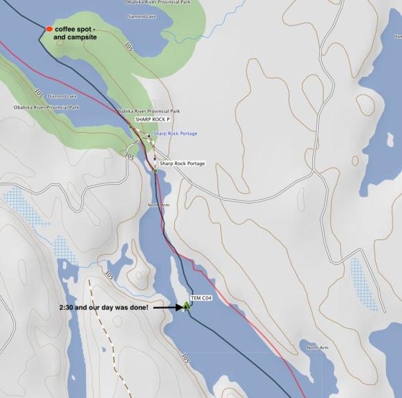 Diamond Lake:Sharp Rock Inlet