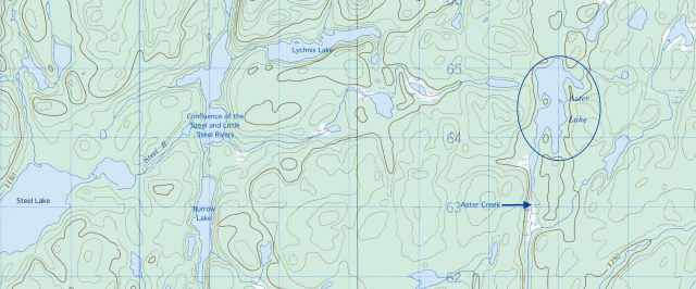 From Steel Lake To Aster Lake