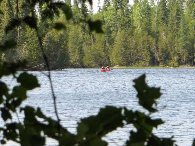 paddlers drop in for afternoon tea