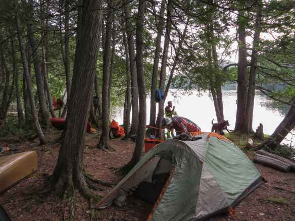 SC05 camp on the Steel - a new day begins