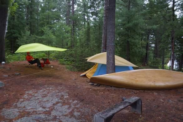 Sharp Rock Inlet campsite