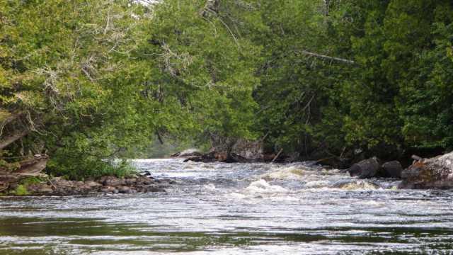 Steel Rapids below our Day 5 campsite