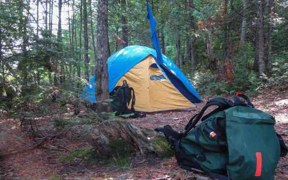 Steel River campsite