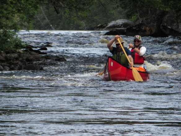 Steel River morning adreneline rush