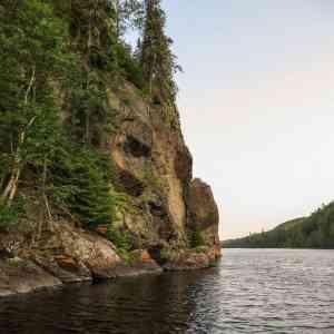 Steel River rock across from SC05