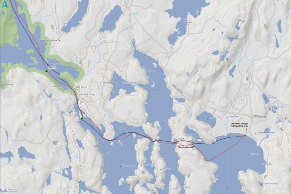 Temagami. Day One. Sandy Inlet to Diamond Lake