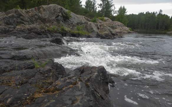 the little drop - all that is left of Lady Evelyn Falls