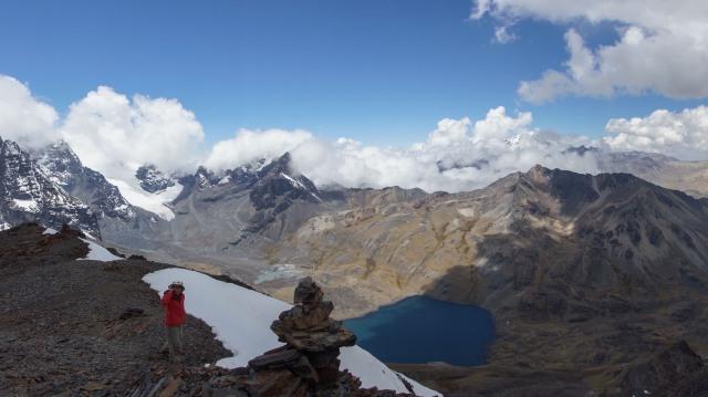 a view of Chiar Khota from Pico Austria
