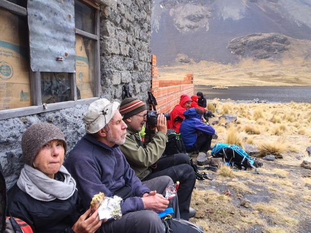 Alka Khota - trekkers' lunch