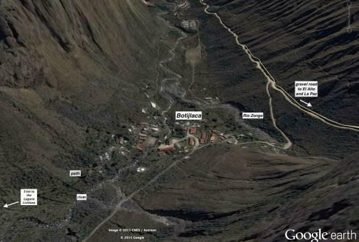 Botijlaca - satellite shot