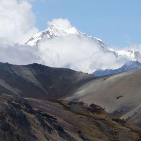 Cerro Kuntur Phusthana (4816) - the peak behind the cairn