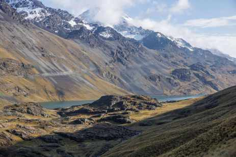 Day 11 - looking back at our Khotia campsite and the Lago