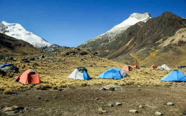 Day 3 campsite at Chojna Khota