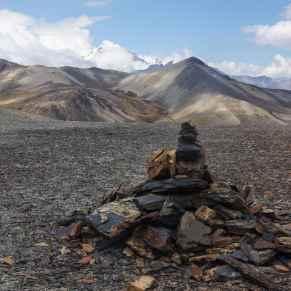 the cairn at Paso Juri Khota