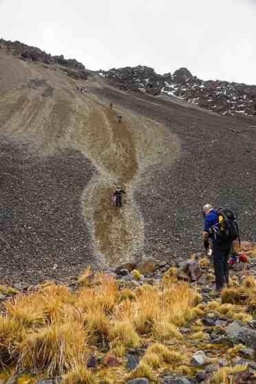 a downside of mountain trekking -